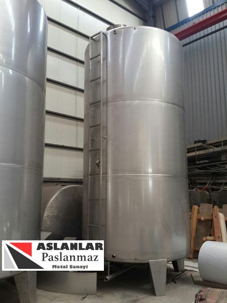 20 Tonluk Su Tankı - 20 Tonluk Paslanmaz Depo