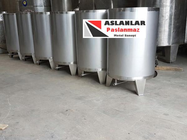 500 litrelikPaslanmaz Depo